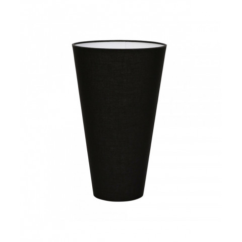 Lampshade Cotton Cone Black...
