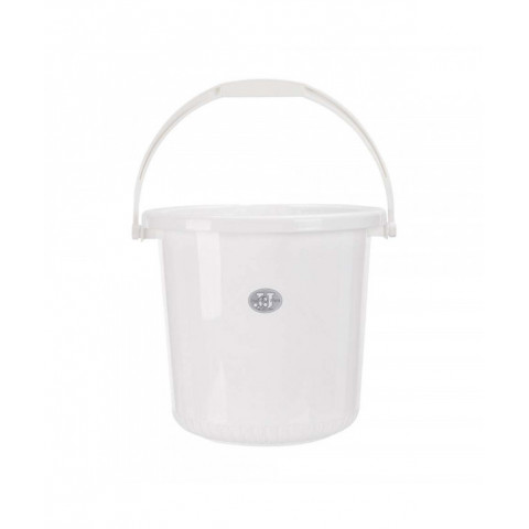 Water Bucket Plastic White...