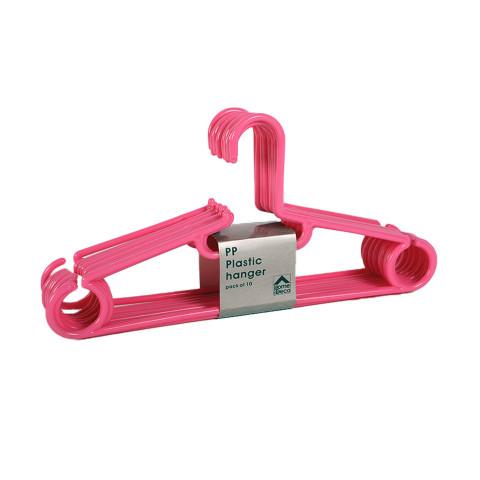 Hanger Plastic Pink Set Of...