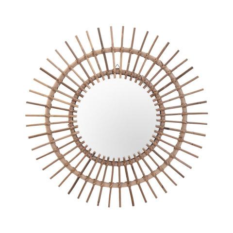 Mirror Kubu Sun Shape...