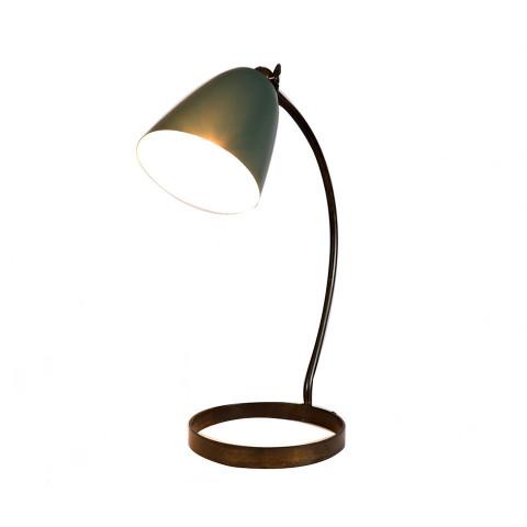 Desk Lamp Rusty Brass Army...