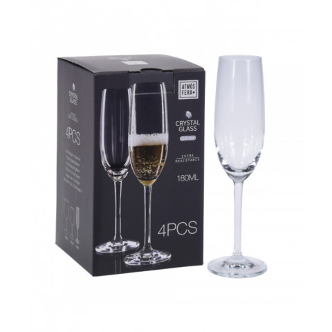 Champagne Glass Crystalline
