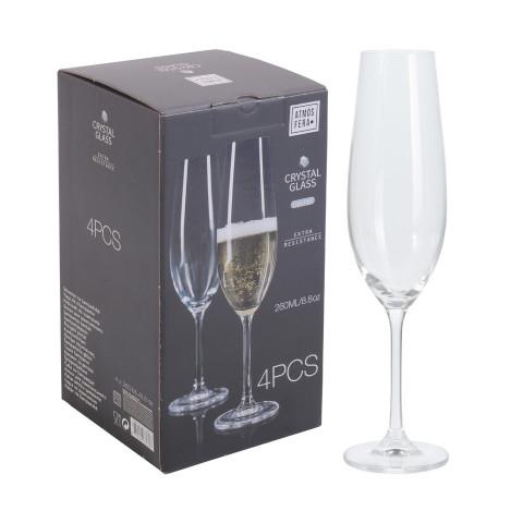 Champagne Glass Crystalline...