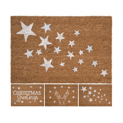 Doormat Silver 3 Assorted...