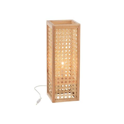 Lamp Rectangular Bamboo...