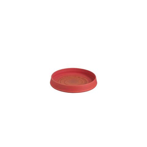 Bowl Round Ceramic Red...