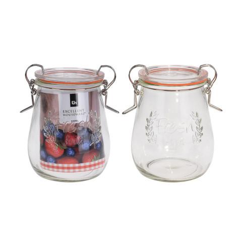 Glass Jar 117Xh145 mm 500 ml
