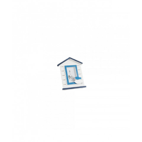 Photoframe House White Blue...