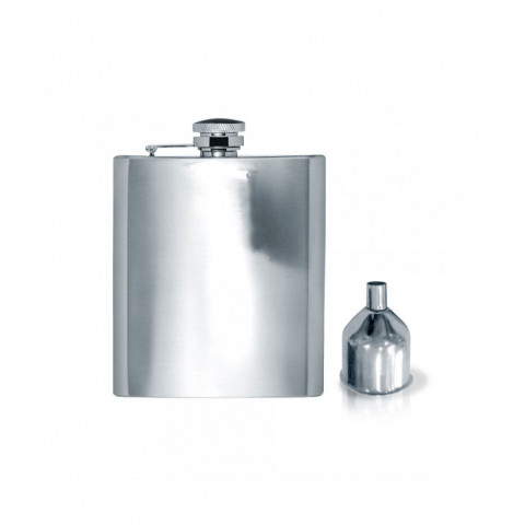 Flask With Funnel Stainless