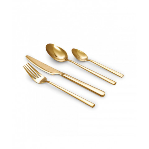 Cutlery Host Gold Set Of 16...