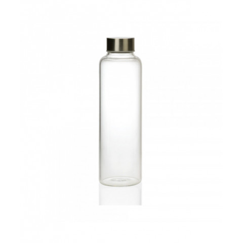 Glass Bottle With Stainless...
