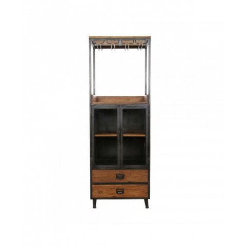 Bar Cabinet With Wood...