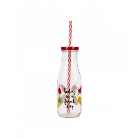 Bottle Glass With Lid