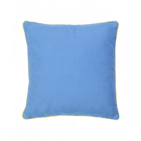 Cushion Blue With Piping...