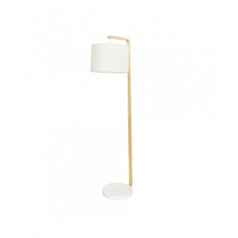 Floor Lamp With Curved Wood...