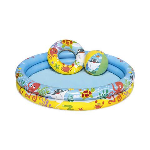Play Pool Set 122x20 cm