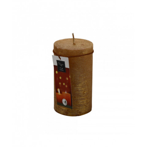 Candle Gold 12 cm