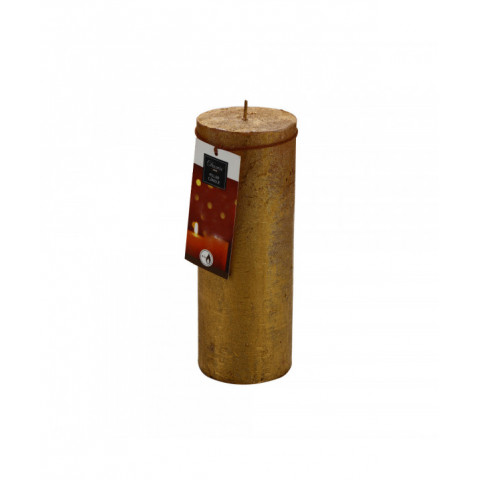Candle Gold 18 cm