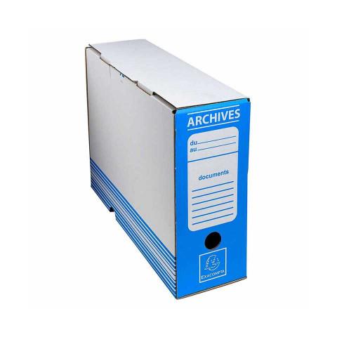 Archive Box Blue 25x34 cm