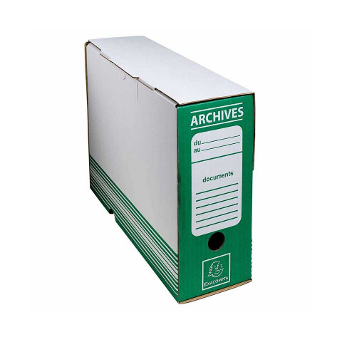 Archive Box Green 25x34 cm