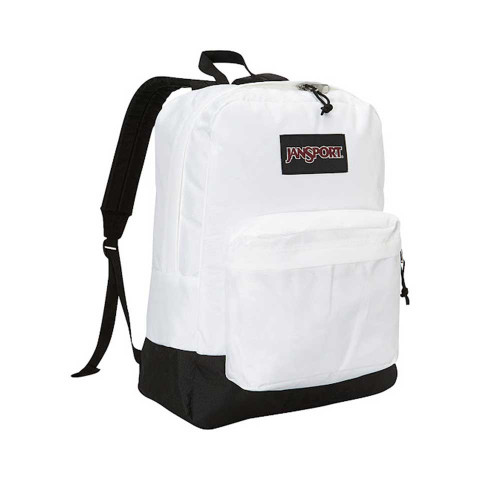 Backpack Black Label White