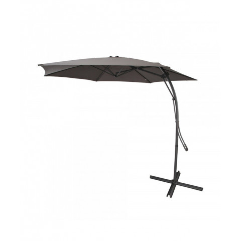 Hanging Umbrella Push Up Grey