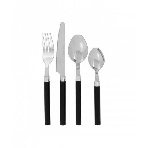 Cutlery Basic Black Set Of...