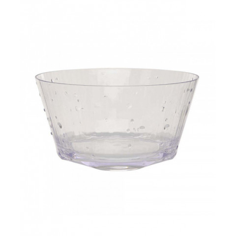 Bowl Clear Acrylic medium size